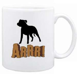 New  Staffordshire Bull Terrier  Arrrrr  Mug Dog