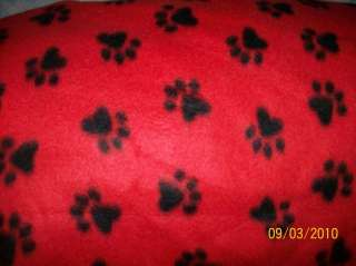 PET DOG CAT FLEECE BLANKET HANDCRAFTED NEW SOFT 18x30in