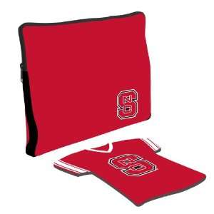 North Carolina State Wolf Pack Laptop Jersey and Mouse Pad