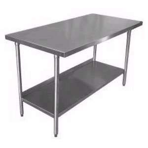 16 Gauge Stainless Steel Commercial Work Table 24 x 30