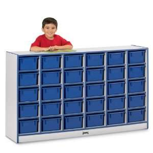 Jonti Craft Rainbow Accents¨ 30 Tray Mobile Cubbies