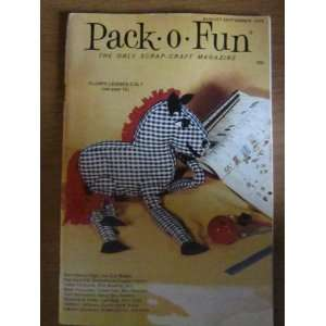 Pack o Fun Scrap Craft Magazine August September 1973