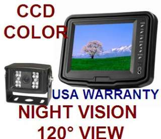 LCD COLOR REAR VIEW BACKUP CAMERA SYSTEM NIGHT VIEW