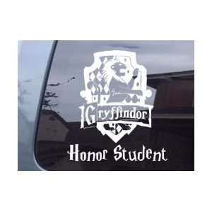 Harry Potter Gryffindor Honor Student Girl Vinyl Decal Sticker