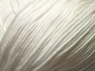 Debbie Bliss Eco Baby White #01 Fair Trade Yarn Per Skein