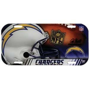San Diego Chargers   Collage High Definition License Plate