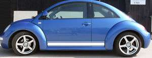 Rocker panel stripe stripes decal decals fits VW Beetle