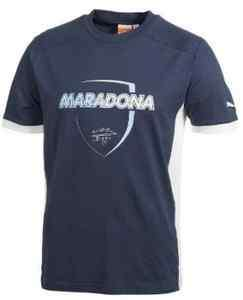 PUMA DIEGO MARADONA TEE T SHIRT NEW 100% AUTHENTIC ARGENTINA