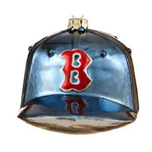 Boston Red Sox Baseball Hat Christmas Ornament Everything