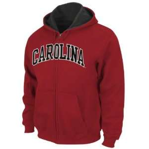 South Carolina Gamecocks Cardinal Tackle Twill Full Zip