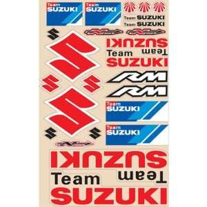N Style Suzuki Decal Sheets Off Road Motorcycle Graphic