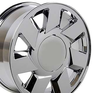 17 Rim Fits Cadillac DTS Wheel Chrome 17 x 7.5