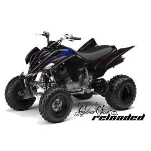 Silver Star AMR Racing Yamaha Raptor 350 ATV Quad Graphic