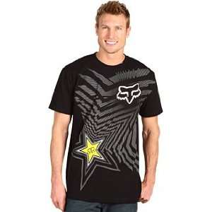 Fox Racing Rockstar Good Life T Shirt   Large/Black