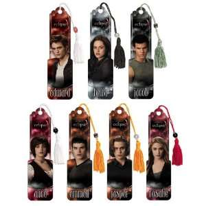 The Twilight Saga Eclipse   Set of 7   Collectible Beaded