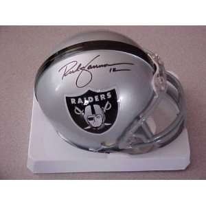 Rich Gannon Hand Signed Autographed Oakland Raiders Riddell Football