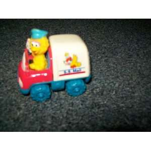 Sesame Streets Big Bird, S.S. Mail truck