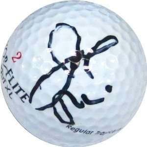 Joe Peschi Autographed/Hand Signed Golf Ball Sports