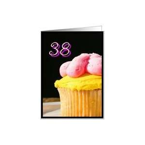 Happy 38th Birthday muffin Card Toys & Games