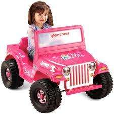 Fisher Price Power Wheels Barbie Jeep 746775064457