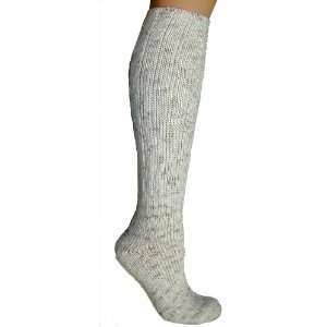 Foot Traffic Womens Cotton Rag Bootsock Ivory Socks