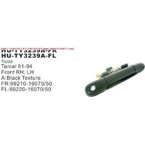 91 94 TOYOTA TERCEL OUTSIDE DOOR HANDLE FRONT LEFT (DRIVER SIDE) 2