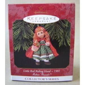 Hallmark Keepsake Little Red Riding Hood Christmas Tree