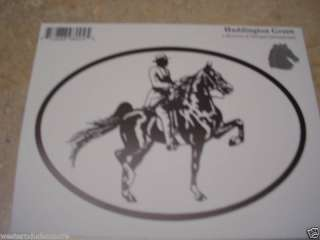 Gaited Walker Horse Truck Or Trailer Decal Sticker