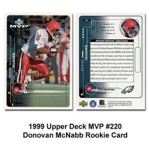 Eagles Donovan Mcnabb 1999 Rookie Trading Card