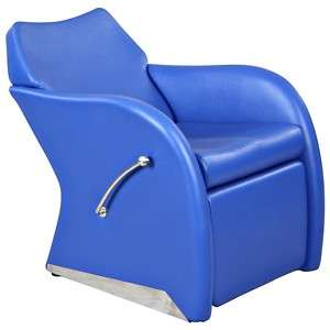 New Blue Lounge Salon Shampoo Chair & Footrest SU 59BLU