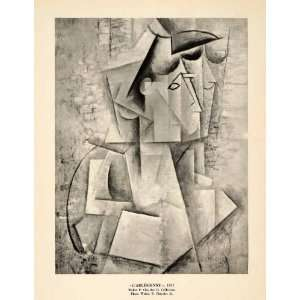 1940 Print Pablo Picasso Geometric Abstract Modern Art Arlesienne W