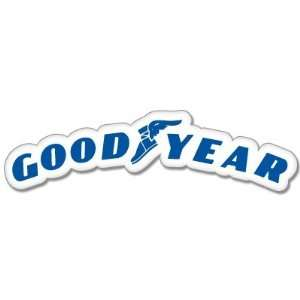 Goodyear Racing car styling sticker 6 wide by 2 high Automotive