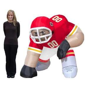 Kansas City Chiefs NFL Air Blown Inflatable Bubba Lawn Figure/Football