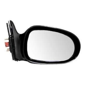 New Passengers Side View Power Mirror Glass Housing