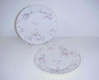 THEODORE HAVILAND LIMOGES FRANCE LUNCH PLATES SET 2