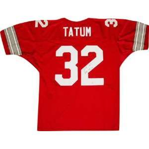 Jack Tatum Ohio State Buckeyes Autographed Red Jersey with