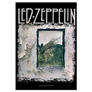 Led Zeppelin Stairway to Heaven Cover Fabric Poster