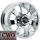 20 Chrome Incubus Krawler Wheels Rims 8x170 8 Lug Ford F250 F350 Super