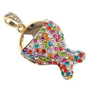 2GB U Disk Fish Shape USB Flash Memory Drive with