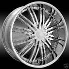 20 ELURE 019 CHROME WHEELS ANY BOLT CIRCLE