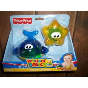 Fisher Price Brilliant Basics Water Friends Starfish and