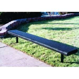 Webcoat Innovated Rolled Style 8Ft. Bench without Back