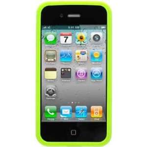 Green Bumper Soft Tpu Skin Gel Cover Case for Apple Iphone