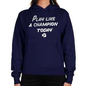 NCAA adidas Notre Dame Fighting Irish Ladies Navy Blue Play Like A