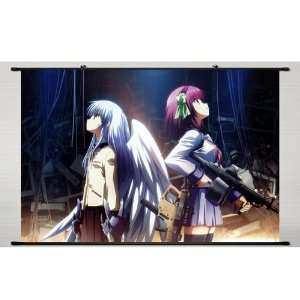 Wall Scroll Angel Beats Kanade Tachibana, 35*24