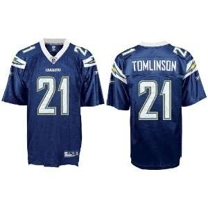 LaDainian Tomlinson San Diego Chargers NEW Navy NFL Equipment Replica