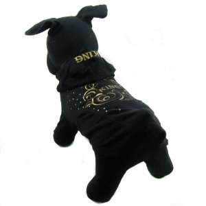 Happy Puppy Designer Dog Apparel   The King Summer Hoodie
