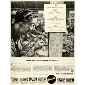 1943 Ad Barrett Chemical Engineering WWII War Production