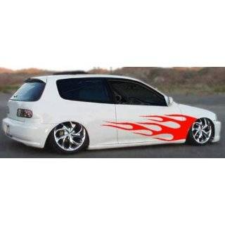 Splash Side Graphics Decal Decals Car Truck Semi Flame Automotive