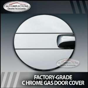 2007 2012 Sierra Chrome Fuel Door Cover Factory Style
